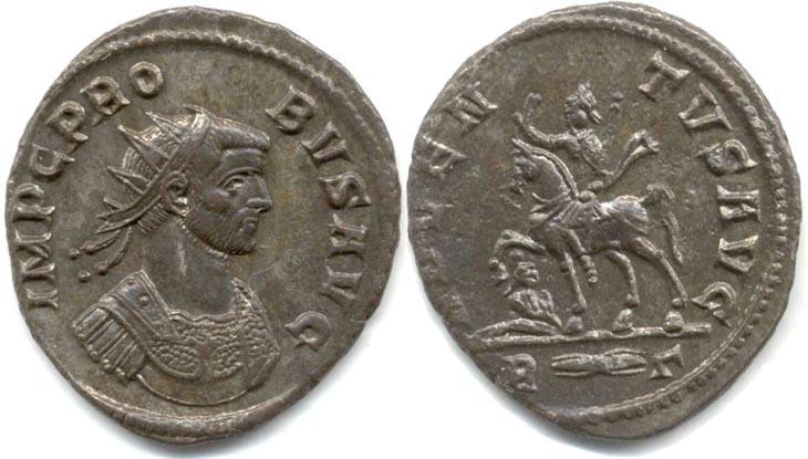 Aureliano de Probo ADVENTVS AVG. Emperador a caballo. Roma R156.060904.GYSEN