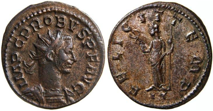 Aureliano de Probo. FELICIT TEMP. Lyon R75.220706.MG