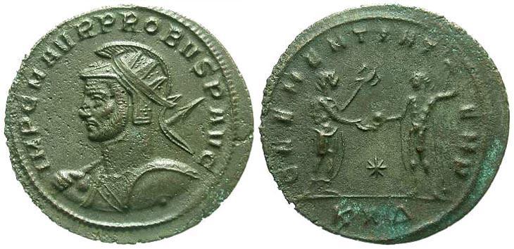 Aureliano de Probo. CLEMENTIA TEMP. Sérdica R839.140902.SERMARINI